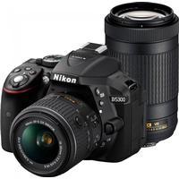 Nikon D5300 + AF-P 18-55mm VR + AF-P 70-300mm ED VR