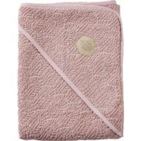 Filibabba Stort Badehåndklæde med Hætte Indian Dusty Rose