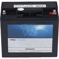 Batteri til plæneklipper 101-842 med gel, passer til Stiga, Alpina