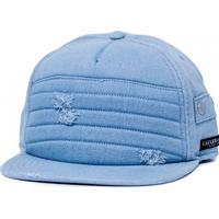 CAYLER & SONS Moto Cap Light Denim Strapback