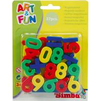 Simba Toys Art & Fun Magnetic Numbers Signs