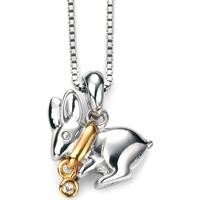 D for Diamond Halsband Hare