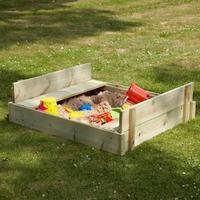 TP Toys Wooden Lidded Sandpit