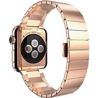 Hoco - Simple Edition rose gold, 42 mm Apple Watch rem - 42 mm