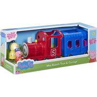Character Peppa Pig Miss Rabbit's Train & Carriage