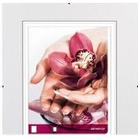 Hama Frameless Picture Holder Clip-Fix - Fotoholder - Designet til: 8x11 tommer (20x28 cm) - glas - firkantet