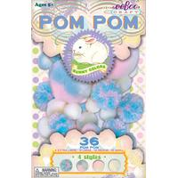 eeBoo Pom pom creations - kaninfärger