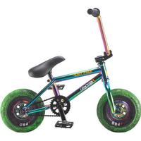 Rocker Mini BMX Cykel Rocker 3+ Crazymain Jet Fuel Freecoaster (Neochrome)