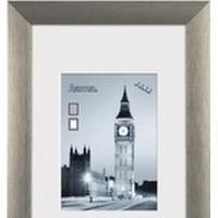 Hama London, Aluminium, Grå, Enkelt billedramme, 9 x 13 cm, 130 mm, 180 mm
