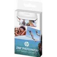HP ZINK Sticky-Backed Photo Paper - selvklæbende - skinnende finish - 50 x 76 mm - 290 g/m² - 20 ark fotopapir - for Sprocket Photo