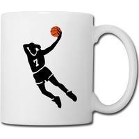 Basketball Slam Dunk Flasker Og Krus,Kop/krus