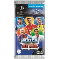 Paket (6 kort), Nordic Edition Champions League Topps Match Attax 2016-17