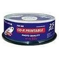 Fujifilm CD-R 700MB 52x Spindle 25-Pack Inkjet