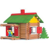 Jeujura Wooden Construction Chalet in a Suitcase 8002