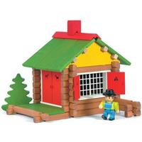 Jeujura Wooden Construction Chalet in a Suitcase 8001