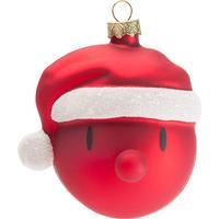 Hoptimist Santa 4cm Juletræskugler