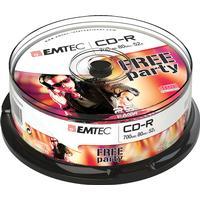 Emtec CD-R 700MB 52x Spindle 25-Pack