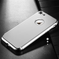 JOYROOM hardcase, gummerad och pläterad för iPhone 7/8 4.7 inch - Silver