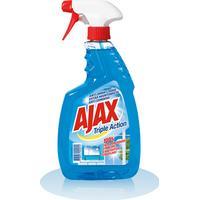 Ajax Triple Action Glass Spray Cleaner 750ml
