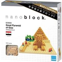 Nanoblock Pyramiden i Giza