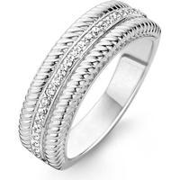 Ti Sento Ti Sento Ring 16.5mm - Silver/Kristall