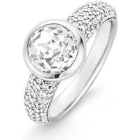Ti Sento Ti Sento Ring 17.75mm - Kristall/Klar