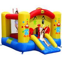 Happyhop Hoppborg Clown med Rutschbana