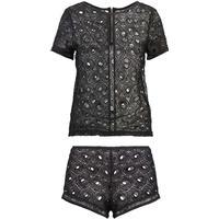 Bluebella Cassia Nightwear Set Black (BZ381B00E-Q11)