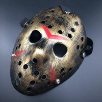 Friday The 13th Jason Mask för Halloween - Bronze