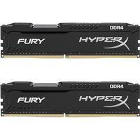 HyperX Fury Black DDR4 2400MHz 2x16GB (HX424C15FBK2/32)