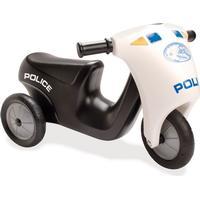 Dantoy Politi Motorcykel m. Gummihjul 3333