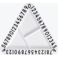Design Letters Melamine Triangulär Snacksskål