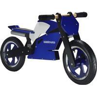 Kiddimoto Superbike Balance Bike Blue/White