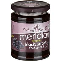 Meridian Organic Blackcurrant Fruit Spread