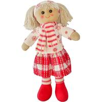 Powell Craft Scarf Rag Doll 40cm