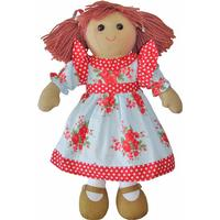 Powell Craft Blue Rose Rag Doll 40cm