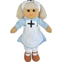 Powell Craft Nurse Rag Doll 40cm