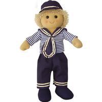 Powell Craft Sailor Boy Rag Doll 40cm