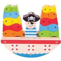 Bigjigs Rocking Pirate Boat