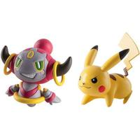Tomy Pokémon Action Pose Figures Pikachu vs Hoopa