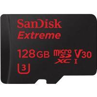 SanDisk Extreme MicroSDXC V30 UHS-I U3 128GB