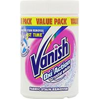 Vanish Oxi Action Crystal White Fabric Stain Remover 1.5kg