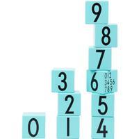 Design Letters Wooden Cubes 0-9