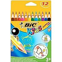 Bic Evolution Triangular Colour Pencil 12-pack