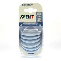 Philips Avent Sealing Discs for Feeding Bottle 6pcs