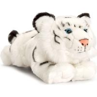 Keel Toys Laying White Tiger 33cm