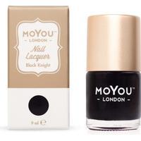 MoYou London Stamping Nail Polish Black Knight 9ml