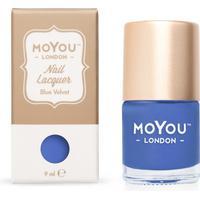 MoYou London Stamping Nail Polish Blue Velvet 9ml