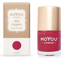 MoYou London Stamping Nail Polish Femme Fatale 9ml