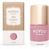 MoYou London Stamping Nail Polish Pink Clay 9ml